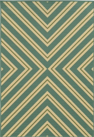 Riviera 4589a Rug Turquoise