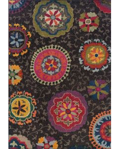 Kaleidoscope 1333N Rug Black