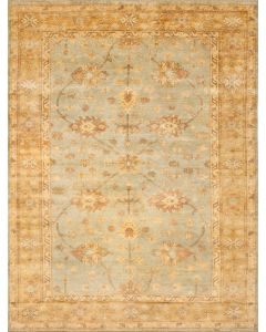 Oushak OSH151A Rug Light Blue Gold