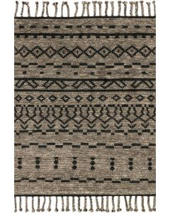 Tulum TF-03 Rug Graphite/Black