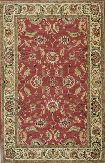 Agra Rug Red