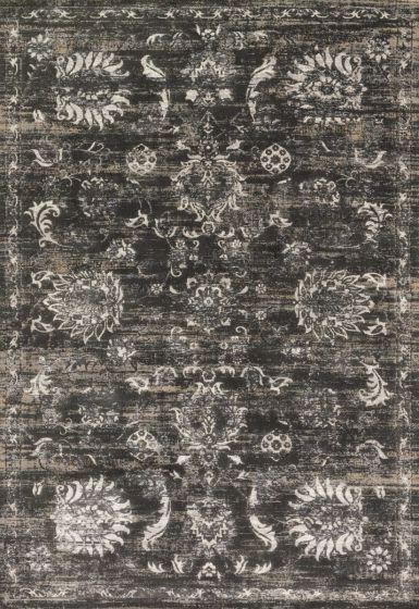 Kingston KT-07 Rug Charcoal/Silver