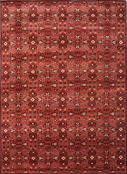 Sheldon Rug Lakehouse Red