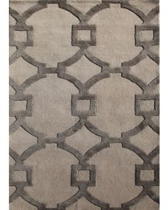 Regency CT44 Rug Antique White & Charcoal Slate