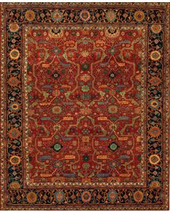 Richmond Rug Vintage Red